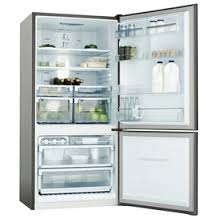 Fridge and freezer in one unit