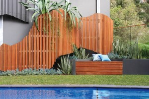 Using timber to create a curved wall