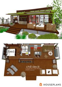 Tiny house design features