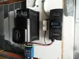 Solar powered system relies on the inverter
