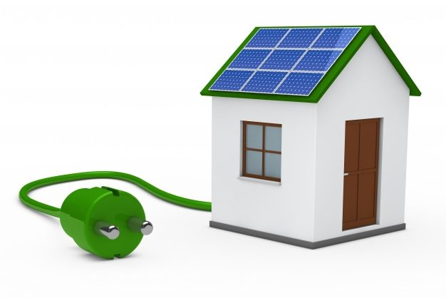 Using an off-grid system for a solar powered worksite