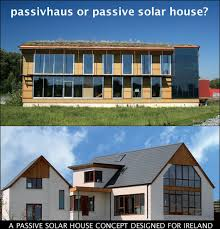 Passive solar and Passive House are different